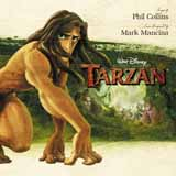 Download or print Phil Collins Trashin' The Camp (from Tarzan) (Pop Version) Sheet Music Printable PDF 2-page score for Children / arranged Very Easy Piano SKU: 417380.