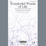 Download or print Philip P. Bliss Wonderful Words Of Life (arr. Keith Christopher) Sheet Music Printable PDF 8-page score for Sacred / arranged 2-Part Choir SKU: 410624.