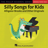 Download or print Phillip Keveren Alligator Brooks Sheet Music Printable PDF 1-page score for Children / arranged Big Note Piano SKU: 450437.