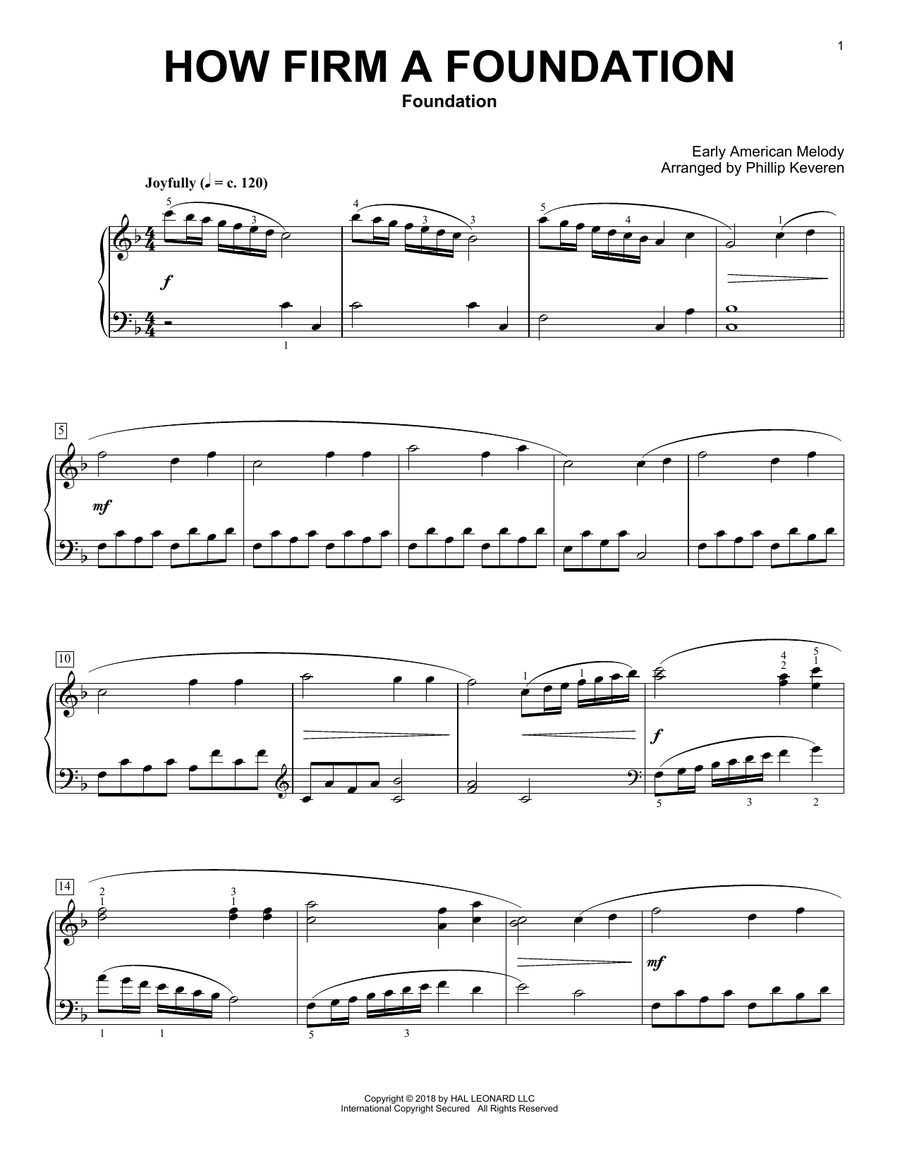 foundation download sheet music - HD 1276×1650