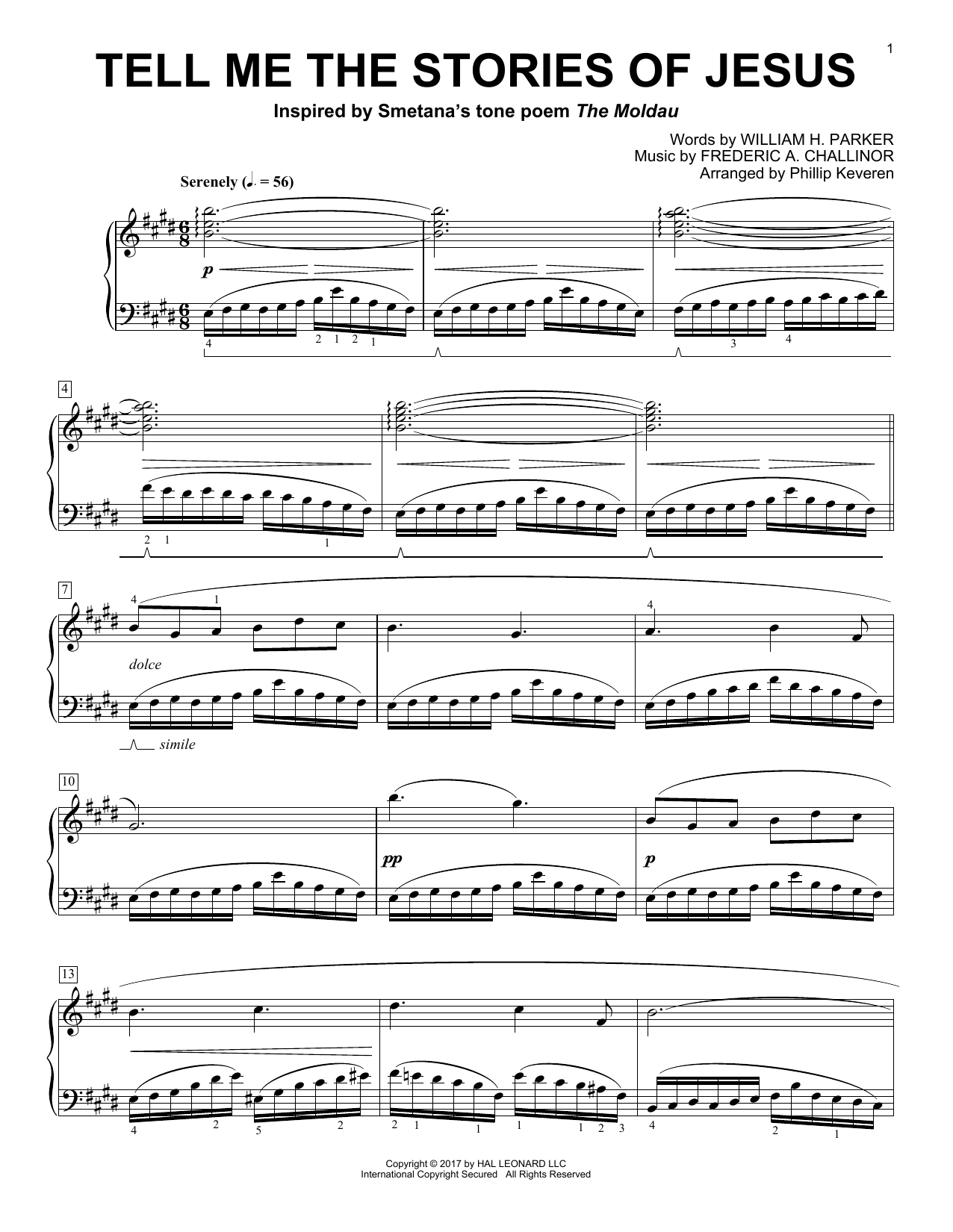 Phillip Keveren Tell Me The Stories Of Jesus sheet music notes and chords. Download Printable PDF.