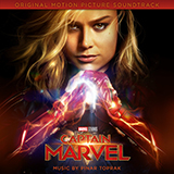 Download or print Pinar Toprak I'm All Fired Up (from Captain Marvel) Sheet Music Printable PDF 4-page score for Film/TV / arranged Piano Solo SKU: 414724.