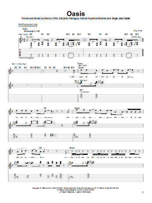 Puya Oasis sheet music notes and chords