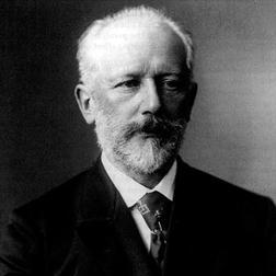 Download Pyotr Ilyich Tchaikovsky 'Adagio 'A La Rose'' Printable PDF 2-page score for Classical / arranged Easy Piano SKU: 54001.