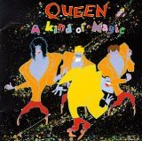 Download Queen 'A Kind Of Magic' Printable PDF 10-page score for Pop / arranged Bass Guitar Tab SKU: 405303.