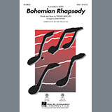 Download or print Queen Bohemian Rhapsody (arr. Mark Brymer) - Guitar Sheet Music Printable PDF 3-page score for A Cappella / arranged Choir Instrumental Pak SKU: 357186.