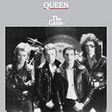 Download or print Queen Crazy Little Thing Called Love Sheet Music Printable PDF 3-page score for Rock / arranged Big Note Piano SKU: 447015.