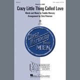 Download or print Queen Crazy Little Thing Called Love (arr. Chris Peterson) Sheet Music Printable PDF 7-page score for Barbershop / arranged TTBB Choir SKU: 283990.
