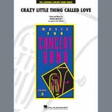 Download Queen 'Crazy Little Thing Called Love (arr. Paul Murtha) - Flute' Printable PDF 1-page score for Pop / arranged Concert Band SKU: 406390.