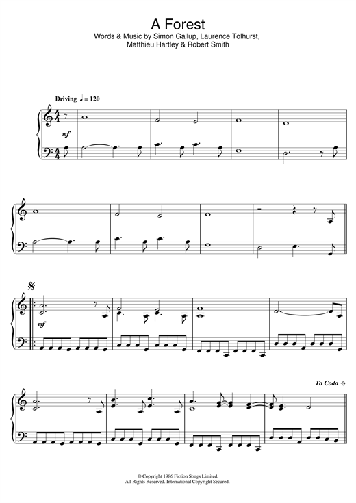 Ramin Djawadi A Forest (from Westworld) sheet music notes and chords. Download Printable PDF.