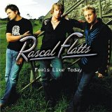Download Rascal Flatts 'Feels Like Today' Printable PDF 5-page score for Pop / arranged Piano, Vocal & Guitar (Right-Hand Melody) SKU: 29084.