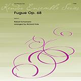 Download or print Richard Fote Fugue/Opus 68 - 1st Trombone Sheet Music Printable PDF 1-page score for Classical / arranged Brass Ensemble SKU: 372645.