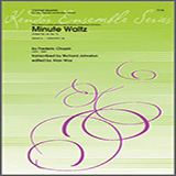Download or print Richard Johnston Minute Waltz (Valse Op. 64, No. 1) - 2nd Bb Clarinet Sheet Music Printable PDF 3-page score for Classical / arranged Woodwind Ensemble SKU: 325722.