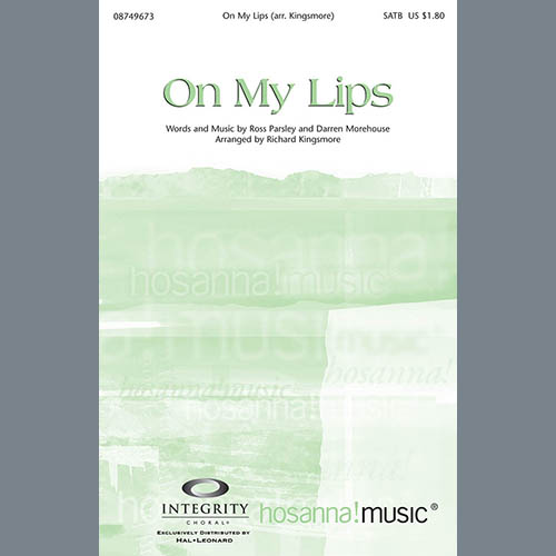 Easily Download Richard Kingsmore Printable PDF piano music notes, guitar tabs for SATB Choir. Transpose or transcribe this score in no time - Learn how to play song progression.