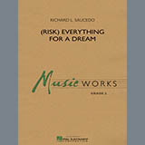 Download or print Richard L. Saucedo (Risk) Everything for a Dream - Bb Clarinet 2 Sheet Music Printable PDF 1-page score for Festival / arranged Concert Band SKU: 338456.