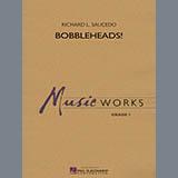 Download or print Richard L. Saucedo Bobbleheads! - Baritone T.C. Sheet Music Printable PDF 1-page score for Novelty / arranged Concert Band SKU: 331020.