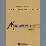 Download Richard L. Saucedo 'Brick Street Encounter - Bb Tenor Saxophone' Printable PDF 2-page score for Concert / arranged Concert Band SKU: 275414.
