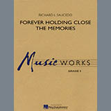 Download Richard L. Saucedo 'Forever Holding Close the Memories - Eb Alto Saxophone 1' Printable PDF 1-page score for Concert / arranged Concert Band SKU: 274859.