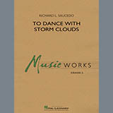 Download Richard L. Saucedo 'To Dance with Storm Clouds - Piano' Printable PDF 4-page score for Concert / arranged Concert Band SKU: 418344.