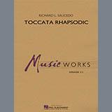 Download Richard L. Saucedo 'Toccata Rhapsodic - Timpani' Printable PDF 1-page score for Concert / arranged Concert Band SKU: 356960.