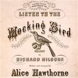 Download Richard Milburn 'Listen To The Mocking Bird' Printable PDF 1-page score for Folk / arranged Xylophone Solo SKU: 442073.
