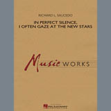 Download Richard Saucedo 'In Perfect Silence, I Often Gaze at the New Stars - Bb Clarinet 2' Printable PDF 1-page score for Concert / arranged Concert Band SKU: 307325.