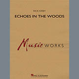 Download or print Rick Kirby Echoes in the Woods - Bb Bass Clarinet Sheet Music Printable PDF 2-page score for Concert / arranged Concert Band SKU: 365683.