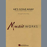 Download or print Rick Kirby He's Gone Away (An American Folktune Setting for Concert Band) - Bb Clarinet 2 Sheet Music Printable PDF 1-page score for Folksong / arranged Concert Band SKU: 278218.