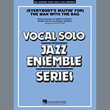 Download or print Rick Stitzel (Everybody's Waitin' For) The Man With The Bag - Guitar Sheet Music Printable PDF 2-page score for Christmas / arranged Jazz Ensemble SKU: 301800.