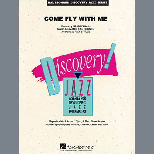 Easily Download Rick Stitzel Printable PDF piano music notes, guitar tabs for Jazz Ensemble. Transpose or transcribe this score in no time - Learn how to play song progression.