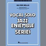 Download Rick Stitzel 'Silver Bells - Alto Sax 1' Printable PDF 2-page score for Christmas / arranged Jazz Ensemble SKU: 378403.