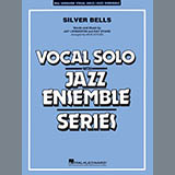 Download or print Rick Stitzel Silver Bells - Trumpet 4 Sheet Music Printable PDF 2-page score for Carol / arranged Jazz Ensemble SKU: 378411.