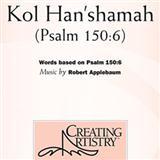 Download or print Robert Applebaum Kol Han'shamah Sheet Music Printable PDF 6-page score for Concert / arranged 3-Part Treble Choir SKU: 94279.