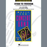 Download or print Robert Buckley Hymn to Freedom - Conductor Score (Full Score) Sheet Music Printable PDF 7-page score for Gospel / arranged Orchestra SKU: 369485.