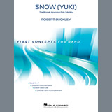 Download or print Robert Buckley Snow (Yuki) - Bb Clarinet Sheet Music Printable PDF 1-page score for Children / arranged Concert Band SKU: 366118.