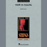 Download or print Robert Buckley Snow Is Falling - Violin 1 Sheet Music Printable PDF 1-page score for Japanese / arranged Orchestra SKU: 372314.