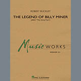 Download Robert Buckley 'The Legend of Billy Miner - Mallet Percussion' Printable PDF 1-page score for Concert / arranged Concert Band SKU: 377877.