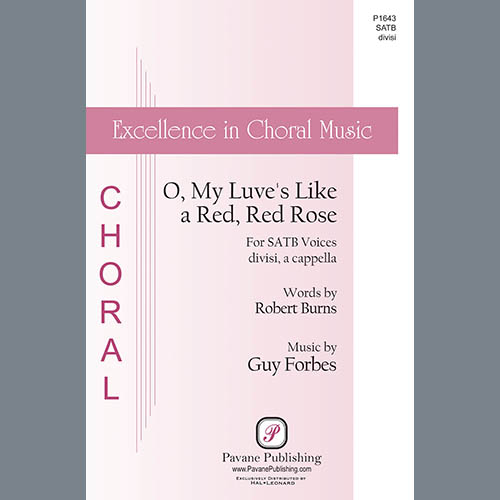 Easily Download Robert Burns and Guy Forbes Printable PDF piano music notes, guitar tabs for SATB Choir. Transpose or transcribe this score in no time - Learn how to play song progression.