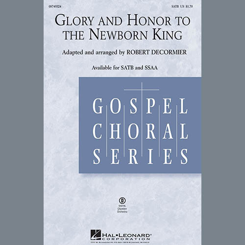 Robert DeCormier, Glory And Honor To The Newborn King - Bassoon, Choir Instrumental Pak