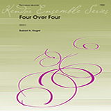 Download or print Robert H. Nagel Four Over Four - Percussion 3 Sheet Music Printable PDF 1-page score for Concert / arranged Percussion Ensemble SKU: 359914.