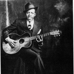 Download Robert Johnson 'Me And The Devil Blues' Printable PDF 6-page score for Blues / arranged Piano, Vocal & Guitar (Right-Hand Melody) SKU: 24803.