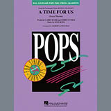 Download or print Robert Longfield A Time for Us (from Romeo and Juliet) - Full Score Sheet Music Printable PDF 4-page score for Film/TV / arranged String Quartet SKU: 368637.