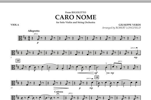 Robert Longfield Caro Nome (from