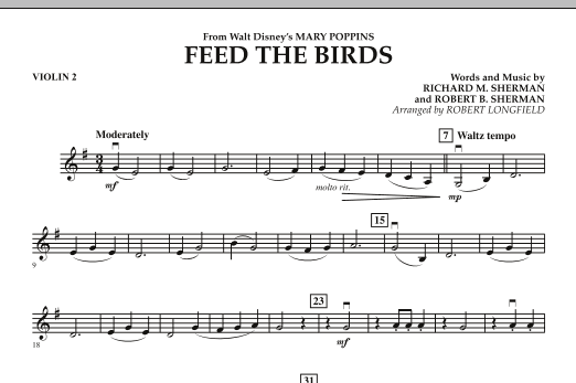 Robert Longfield Feed the Birds (from