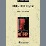 Download Robert Longfield 'High School Musical - Bb Bass Clarinet' Printable PDF 2-page score for Disney / arranged Full Orchestra SKU: 271942.