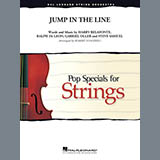 Robert Longfield 'Jump in the Line - Violin 1' 2-page score for Calypso / arranged Orchestra SKU: 371525.