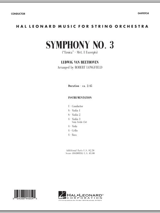 Robert Longfield Symphony No. 3 (
