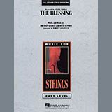 Download Robert Longfield 'The Blessing - Violin 1' Printable PDF 1-page score for Celtic / arranged Orchestra SKU: 293492.