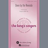 Download or print Robert Rice Down By The Riverside Sheet Music Printable PDF 18-page score for Folk / arranged SATB Choir SKU: 177553.
