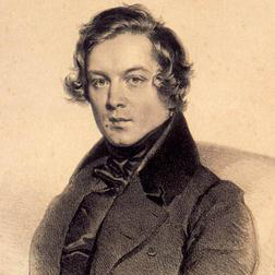 Robert Schumann 'Larghetto (Theme) from 'Spring' Symphony No.1 in B Flat Major' 3-page score for Classical / arranged Piano Solo SKU: 117832.
